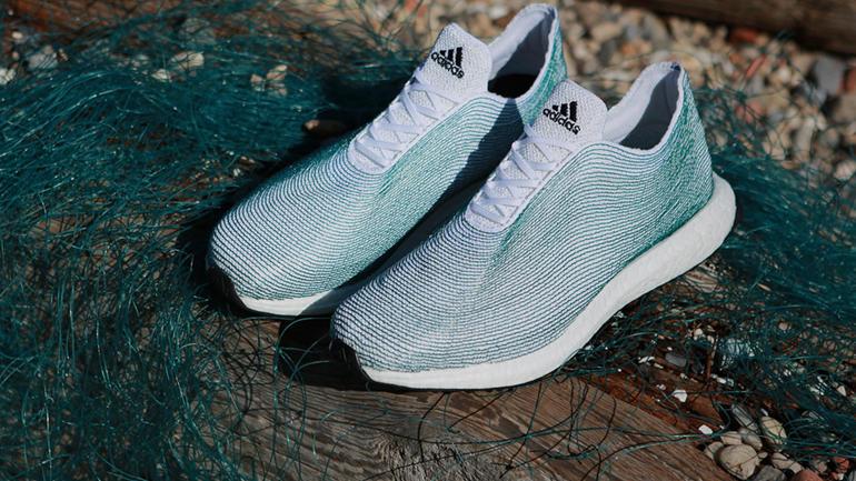 Adidas y Parley presentan su línea de calzado hecha con plástico reciclado